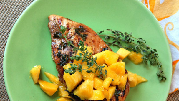 kip mango salsa recept