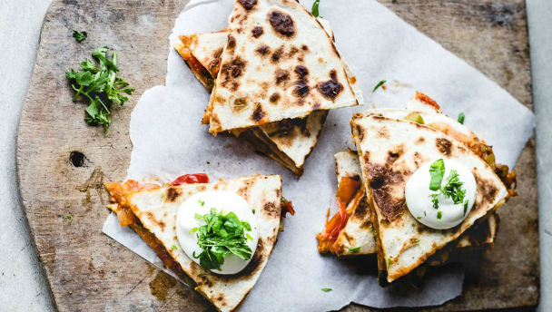 Quesadillas recept