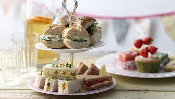 Verschillende soorten sandwiches