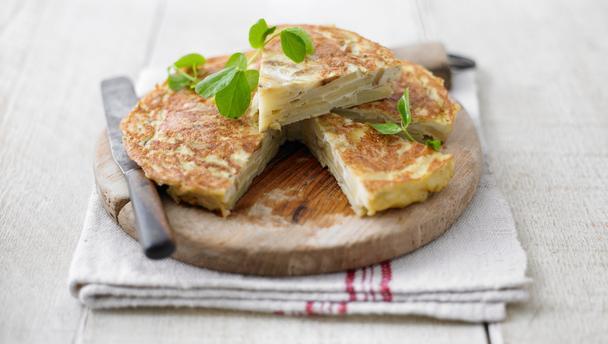 recept voor spaanse aardappel tortilla