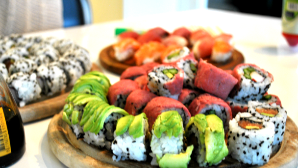 sushi beef recept