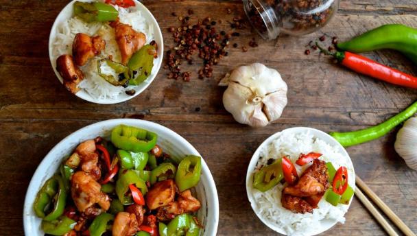 recept voor sichuan kip