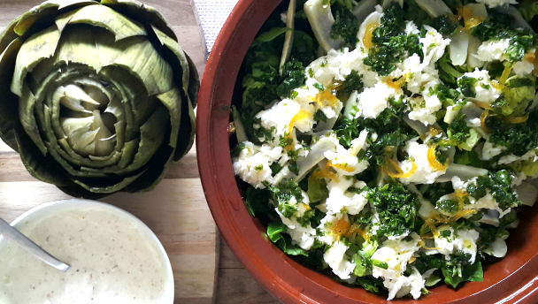 artisjokken salade