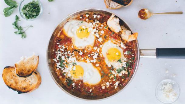 recept voor shakshuka