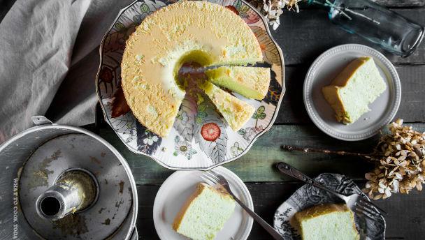 recept pandan cake