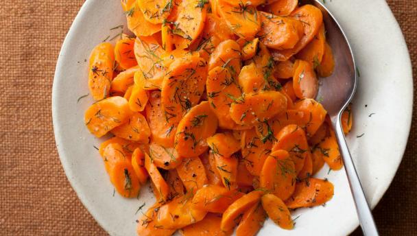 recept voor honing dille wortels