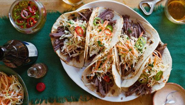 recept voor taco's