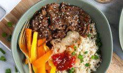 Koreaanse rundvlees stoofpot